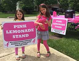 Evelyn and Sierra's Lemonade Stand